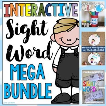 Interactive Sight Word BUNDLE