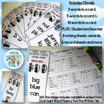 Interactive Sight Word BUNDLE PRIMER