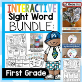 Interactive Sight Word BUNDLE FIRST GRADE