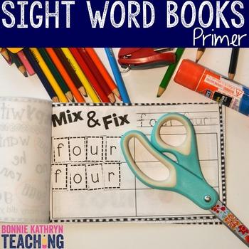 Interactive Sight Word Book- AT