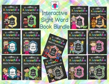 Interactive Sight Word Book Bundle-13 Books