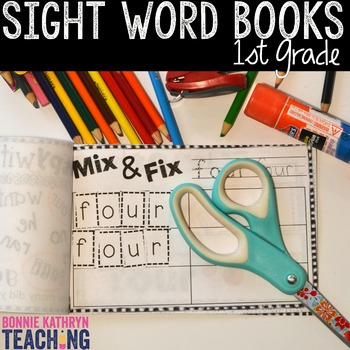 Interactive Sight Word Book-GIVE