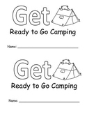 Interactive Sight Word Book - Get Ready to Go Camping
