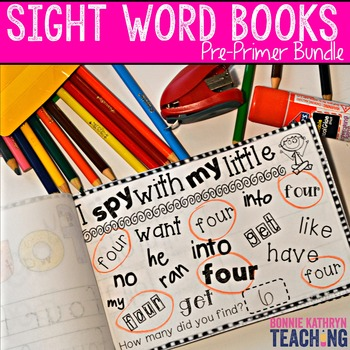 Interactive Sight Word Book- I