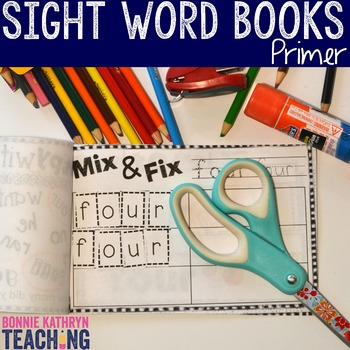 Interactive Sight Word Book- MUST