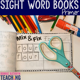 Interactive Sight Word Book- White