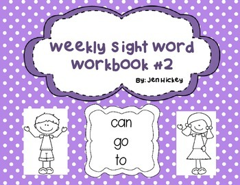"""Sight Word Interactive Booklet: """"can go to"""""""