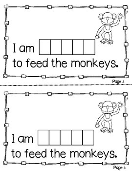 Interactive Sight Word Books- Letter G Words