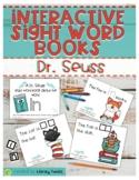 Dr. Seuss Activities: Dr. Seuss Sight Word Books