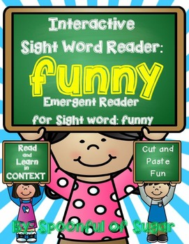 Interactive Sight Word Emergent Reader: Sight Word FUNNY