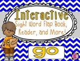 Sight Word: GO - Interactive Flap Book, Reader, and More!