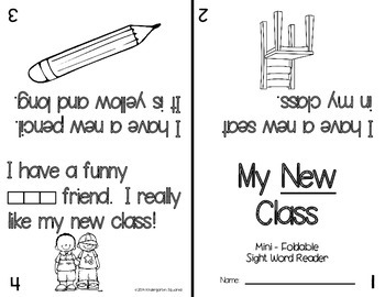 Sight Word: NEW - Interactive Flap Book, Reader, and More!