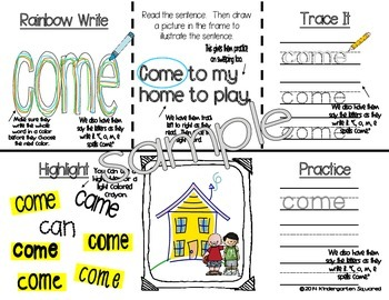 Sight Word: WITH - Interactive Flap Book, Reader, and More!