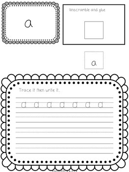 Interactive Sight Word Journal ~ Dolch Pre-Primer
