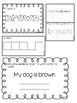 Interactive Sight Word Journal - Primer