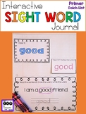 Sight Word Journal - Primer