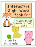 Interactive Sight Word Notebook for Reading Street (2007)