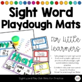 Interactive Sight Word Playdoh Mats