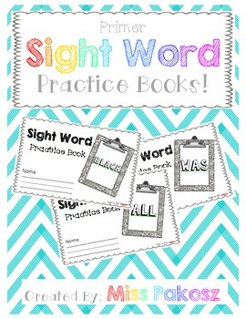 NO PREP Interactive Sight Word Practice Book - ARE