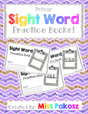 NO PREP Interactive Sight Word Practice Books - Primer Edition with FREEBIE!