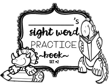 Interactive Sight Word Practice-SET #2 (activities, games, and much more)