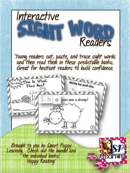 Interactive Sight Word Books