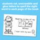 "Interactive Sight Word Reader ""I Have FIVE Senses"""