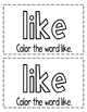 "Interactive Sight Word Reader- ""I LIKE Animals"""