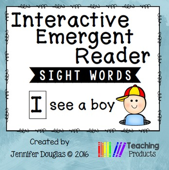 Sight Word Emergent Reader - Sight Word I