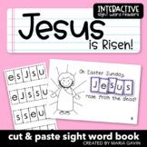 "Interactive Sight Word Reader ""Jesus is Risen!"""