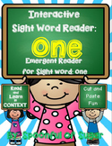 Interactive Sight Word Reader: Sight Word ONE