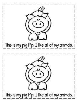 "Interactive Sight Word Reader- ""THIS Is My Farm"""