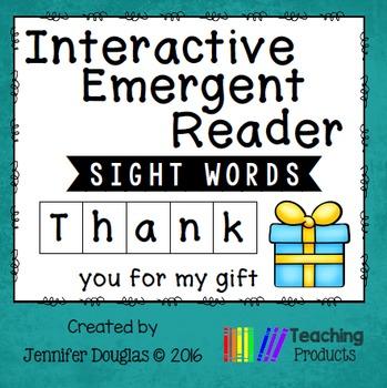 Emergent Reader - Sight Word THANK
