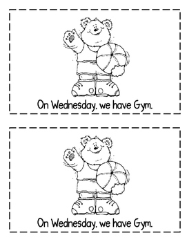 """Interactive Sight Word Reader- """"What Day Is It ON?"""""""