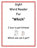 "Sight Word Reader ""Which"""