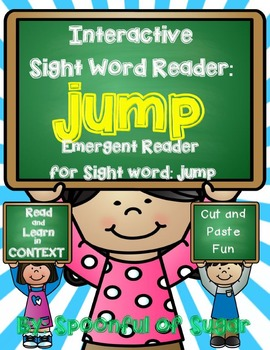 Interactive Sight Word Reader and Crown: Sight Word JUMP