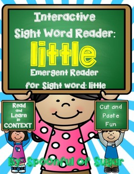 Interactive Sight Word Reader and Crown: Sight Word LITTLE