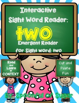 Interactive Sight Word Reader and Crown: Sight Word TWO