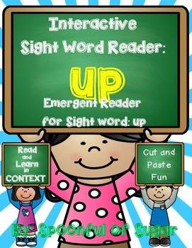 Interactive Sight Word Reader and Crown: Sight Word UP
