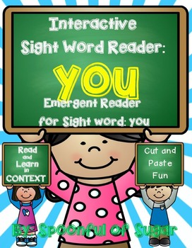 Interactive Sight Word Reader and Crown: Sight Word YOU