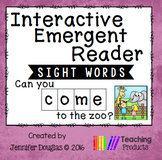 Emergent Reader - Sight Word COME