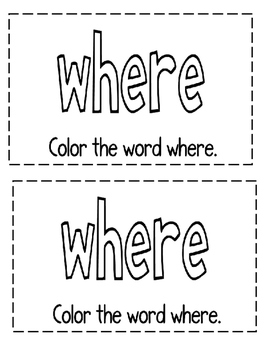 "Interactive Sight Word Reader with positional words- ""WHERE Is the Cat?"""