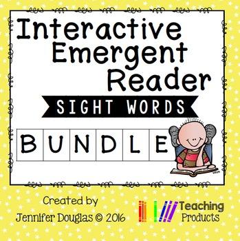 Emergent Readers Growing Bundle - Interactive Sight Word Readers