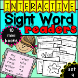 Interactive Sight Word Readers SET NINE {10 books}
