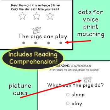 Interactive Sight Word Readers SET TEN {10 books}