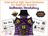 Interactive Sight Word Sentences for Beginner Readers:  Ha