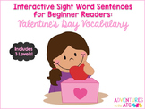 Interactive Sight Word Sentences for Beginner Readers:  Va
