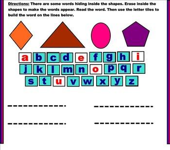 Smart Board Sight Words Practice | Fun Sight Words Activity Smart Notebook