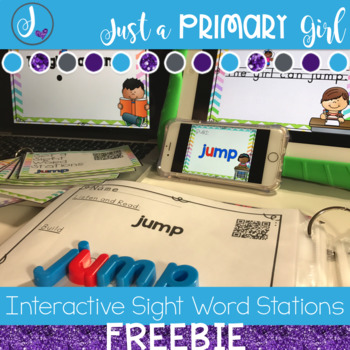 Interactive Sight Word Videos - freebie