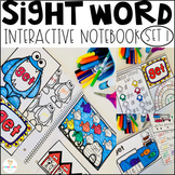 Interactive Sight Words Notebook Primer Set 1